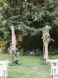 wedding arch greenery 19 ideas for an outdoor wedding arbor