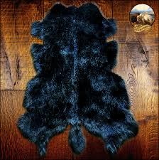 hipster cool faux fur rug shag buffalo hide throw designer