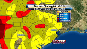 Houston Weather Map Houston Officially Back In A Drought