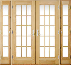 French Outswing Patio Doors by 1875 In 15 Lite Glass French Vanilla Wood Folding Outswing Patio