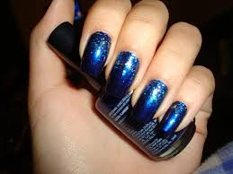 blue and black nail designs best nail 2017 26 long acrylic nail