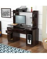 laura computer desk with hutch slash prices on inval laura computer desk with hutch