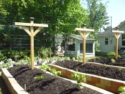 How To Build A Large Raised Garden Bed - combining hugelkultur raised beds and sheet mulch permaculture