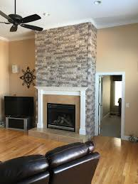 100 stacked stone fireplaces stone veneer fireplace design