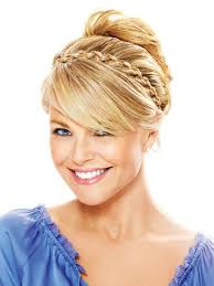 braid headband thick braid by christie brinkley headband hair extensions