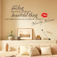 Marilyn Monroe Wall Decor Wall Decals Quotes Stickers U2014 John Robinson House Decor Wall