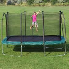 skywalker trampolines 14 u0026apos x 8 u0026apos rectangle trampoline and