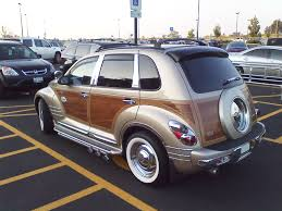 chrysler car white custom pt cruiser view photo of custom chrysler pt cruiser woody
