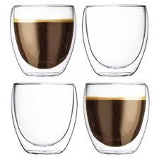 espresso macchiato double my coffee double walled glass cappuccino espresso macchiato