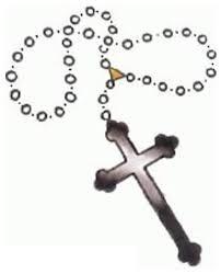 christian cross tattoo design rosary beads tattoo 2012