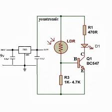 microcontroller projects for beginners simple light sensor circuit