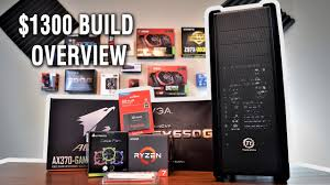 Ryzen Build Parts Overview Guide Youtube