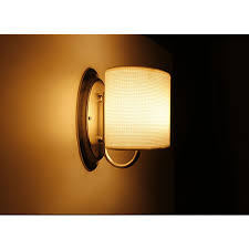 Decorative Rv Interior Lights Buy 12v Led White Fabric Shade Wall Sconce Rv Trailer Camper Van