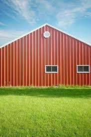 Steel Pole Barn How To Paint A Metal Pole Barn Hunker