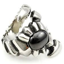 aliexpress buy mens rings black precious stones real aliexpress buy gokadima new unique stainless steel