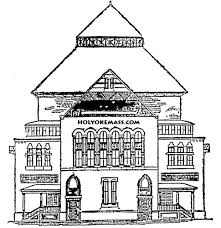 other printable coloring pages for girls haunted house template