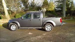 gray nissan truck nissan navara tekna connect slate grey youtube