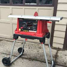 10 In Table Saw Find More Tradesman 10 In Table Saw With Mobile Stand For Sale At