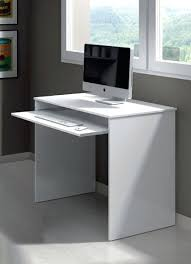 office desk with adjustable keyboard tray white computer table small white computer desk for small spaces