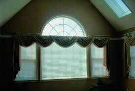custom window treatments by why sew serious arch windows