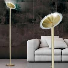Schlafzimmer Lampe Gold Deckenfluter 20 Watt Cob Led Stehlampe Leuchte Wohnzimmer Dimmer