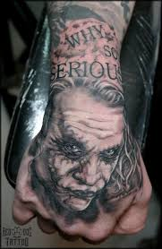 the joker tattoo by reddogtattoo on deviantart