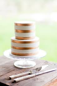 metallic wedding cake inspiration simply peachy event design