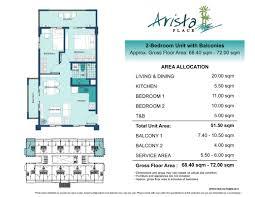 naia terminal 1 floor plan arista place dmci homes condo for sale