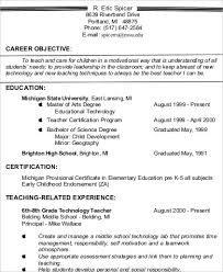 A Resume Example In The by Resume Objective Statement Share This Example Of Resume