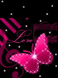 wallpapers of glitter butterflies butterfly glitter graphics pink butterfly love photo