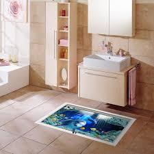 custom 3d floor wallpaper 10 meters high definition underwater