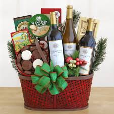 Wine And Cheese Gifts Tasting And Toasting Wine Gift Basket Hayneedle