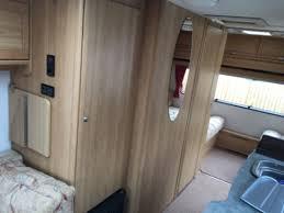 5 Berth Caravan With Awning Lunar Quasar 525 5 Berth Touring Caravan Double Dinette Full