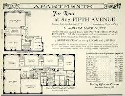 Maisonette Floor Plan 817 Fifth Avenue U0027maisonette U0027 Vía Reece Bivens Arquitectura
