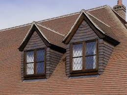 dreadnought country brown plain clay roof tiles