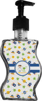 themed soap dispenser boy s space themed wave bottle soap lotion dispenser