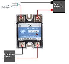 ssr 40dd 40a solid state relays 40a ssr 3 32v dc to 5 220v dc