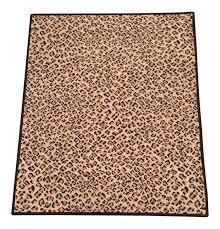 leopard area rug stark folsom true leopard rug 2 u00276
