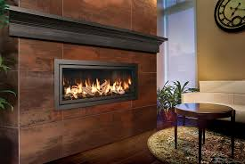 modern linear fireplaces mapo house and cafeteria