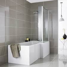 l shaped shower bath r h with acrylic front panel screen bfi l shaped shower bath r h with acrylic front panel screen bfi bathrooms