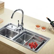 Cheap Kitchen Sink by How To Clean Plastic Kitchen Sink With Drainboard Modern Kitchen