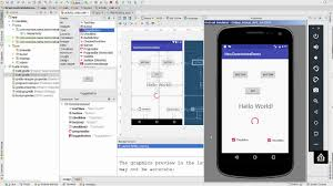 studio layout android studio 2018 new constraint layout to start youtube