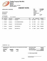 credit memo template credit note form download professional