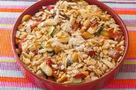 recette de cuisine d été crumble aux légumes d été kilometre 0 fr