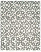 round hooked gray area rugs bhg com shop