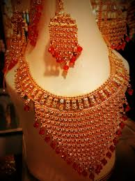bridal gold sets indian gold plated bridal jewellery set price in pakistan m007486