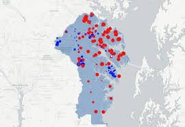 Early Election Results Map by Map Election Results From Anne Arundel County U0027s Polling Places