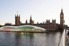 during westminster palace renovation floating structure could