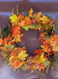 Captivating Thanksgiving Decorations Shows Incredible Wreath From