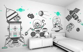 kids room wall decal ideas for wall decorations colorful outer full size of black blue vinyl kids wall art decor decal design white painted wall accent